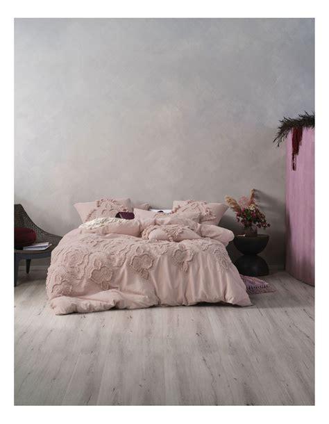 linen house alli quilt cover set myer