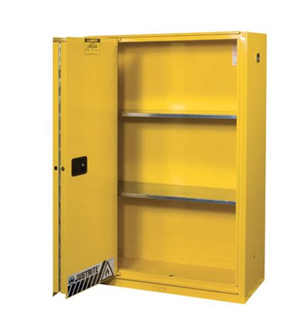 justrite 45 gallon safety cabinet buy justrite 894580 45 gallon safety cabinet 2 shelves