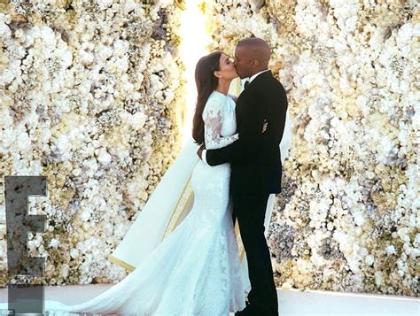 Kim kardashian and and kanye west s lavish italian wedding pictures