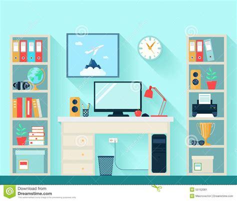 wallpaper cartoon study workspace clipart clipground