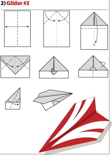 How To Make A Working Paper Airplane - organized chaos origami paper airplanes
