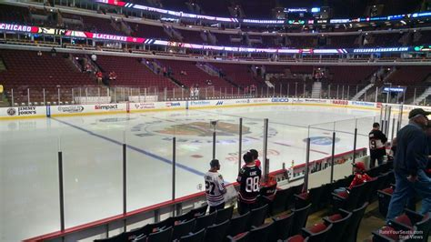 United Center Section 102 Chicago Blackhawks