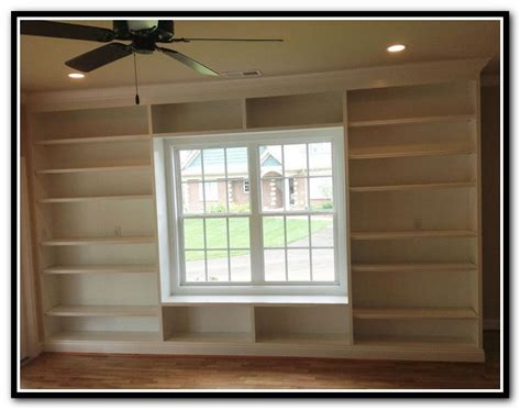 built in bookcase around window search
