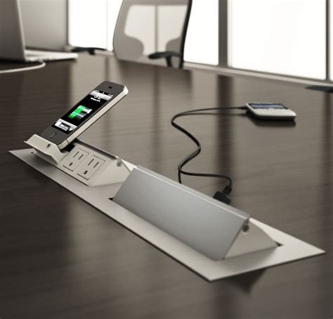 conference table with power conference table power data modules enhance your next meeting
