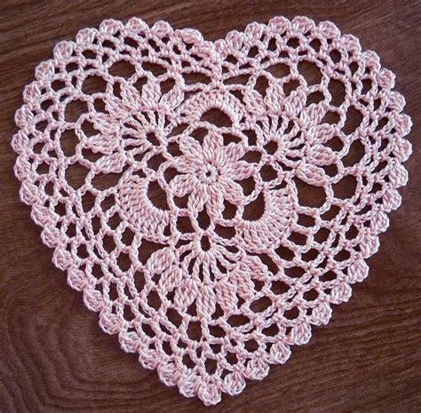 free pattern heart doily crochet doily patterns newhairstylesformen2014 com