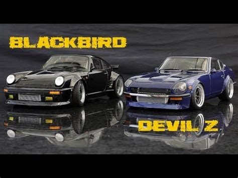 devil z vs blackbird datsun s30z devil z vs porsche 930 blackbird versus