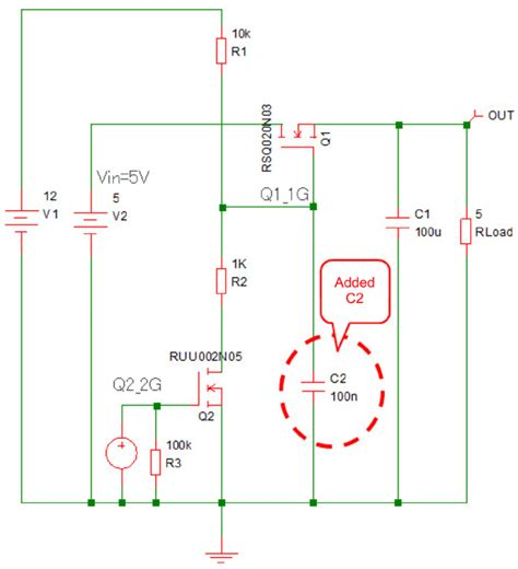 transistor load or switch what is a transistor load switch rohm semiconductor