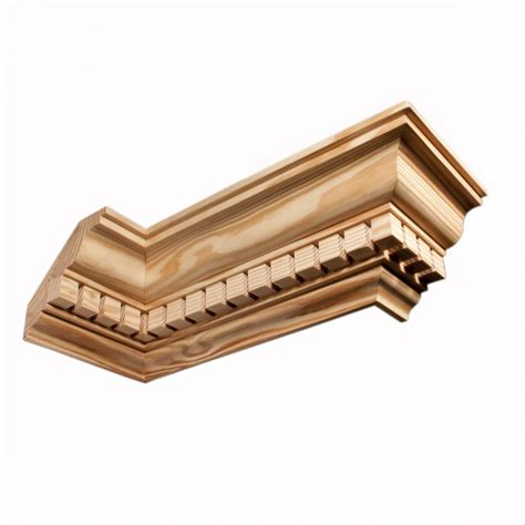Timber Cornice Moulding C737 Southern Yellow Pine Cornices Wrp