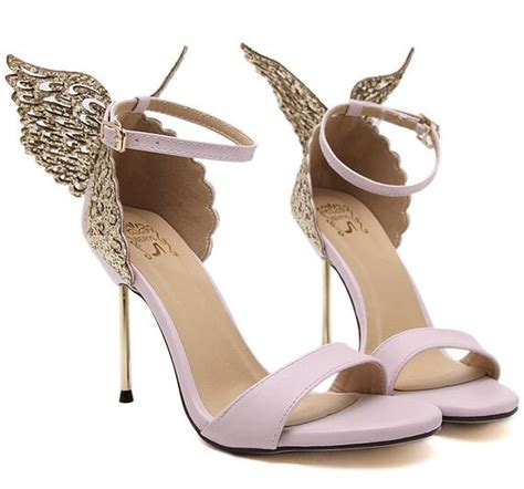 Alas Sandal Nictech Limited size 4 9 pink butterfly high heels pumps black summer thin heels shoes zapatos