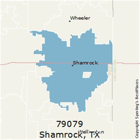 shamrock texas map best places to live in shamrock zip 79079 texas