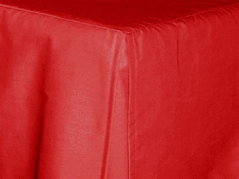 red bed skirt red tailored bedskirt for cribs and daybeds and twin