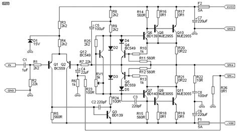 fan for power lifier car amp schematic get free image about wiring diagram