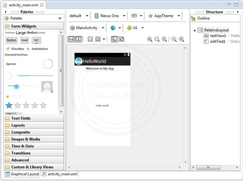 tutorial android project eclipse computer2know ว ธ ร น project android ผ าน avd หร อ