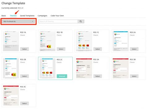 Mailchimp Create Template From Caign by Building A Mailchimp Rss Driven E Mail Caign