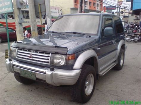 2002 mitsubishi pajero 3 door 4x4 limited edition for sale