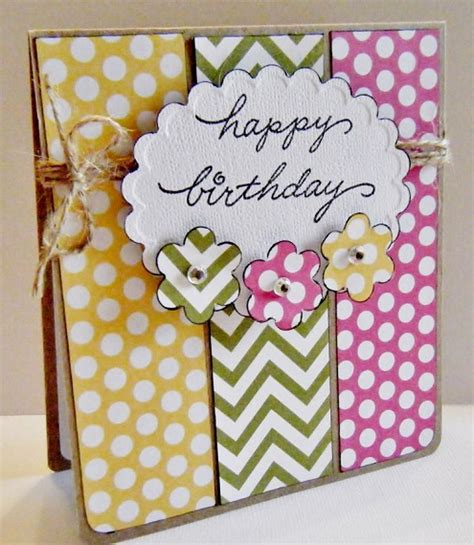Handcrafted Birthday Cards - 32 handmade birthday card ideas and images