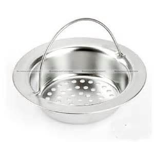 stainless steel kitchen sink strainer waste drain