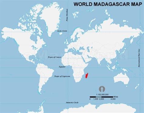 where is madagascar on a world map madagascar location map location map of madagascar