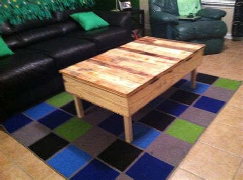 my new coffee table made out of pallets crafts