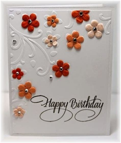 25 best ideas about embossed cards on