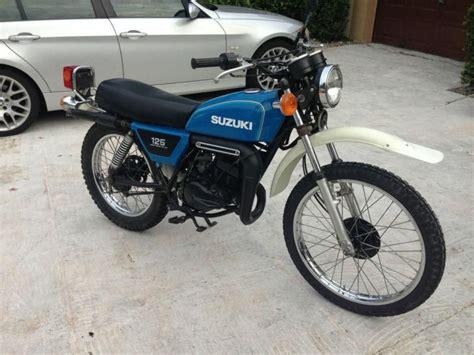 Suzuki 125 2 Stroke 1978 Suzuki Ts 125 2 Stroke With For Sale