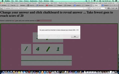 tutorial javascript canvas html javascript canvas fractions game tutorial robert