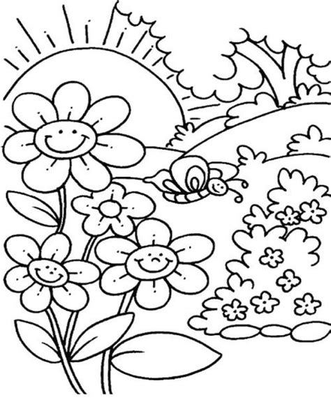 a flower s view coloring book for everyone books flower garden coloring pages sketch coloring page