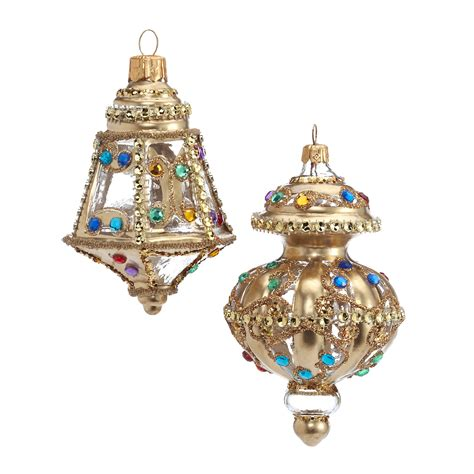 jeweled lantern christmas ornaments gump s