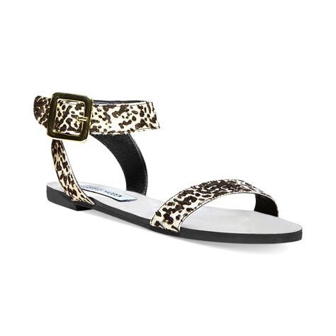 steve madden sandals flat steve madden s flexi p flat sandals in black black
