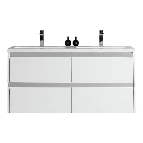 Ove Decors by Ove Decors Durante 48 In W X 18 3 In D Vanity In White