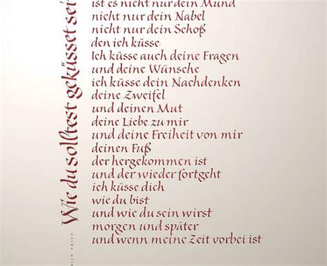 Gedichte Zur Hochzeit by Kalligrafie Propfe 187 Wie Du Gedicht Zur Hochzeit