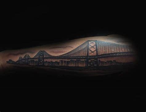 golden gate bridge tattoo designs 100 california designs for pacific pride ink