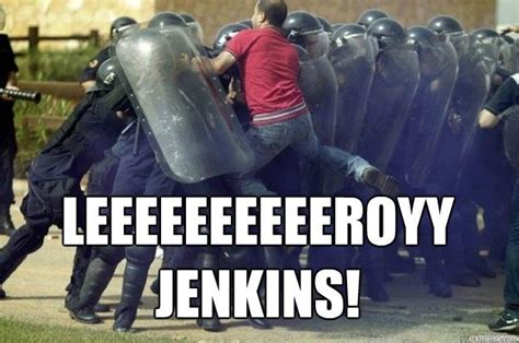 Leroy Jenkins Meme - 10 years ago leeroy jenkins was born dorkly post