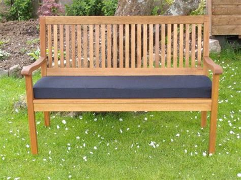 black garden bench uk pnh 174 black garden bench cushion 5ft 60 x 18 x 2 5