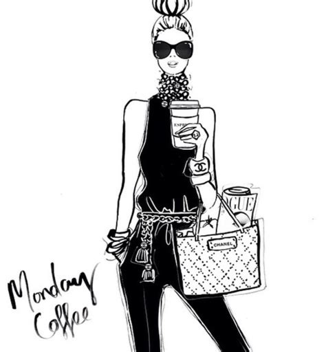 fashion illustration generator monday coffee chic coffee maker brewer overflow mess problems when an overflow occurs the