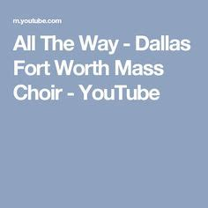 another chance dallas fort worth mass choir melodies from heaven choir
