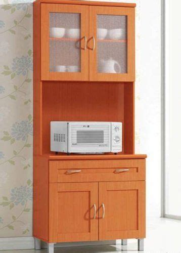 Kitchen Microwave Pantry Storage Cabinet Microwave Cabinet Stand Hutch Pantry Cart Storage Cupboard Kitchen Cherry Ebay