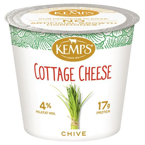 carbon dioxide in cottage cheese chive 5 64oz kemps
