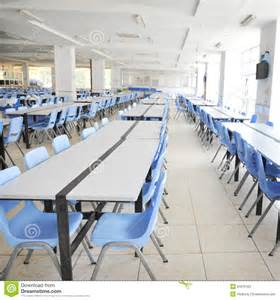 clean cafeteria stock photography image 31670162