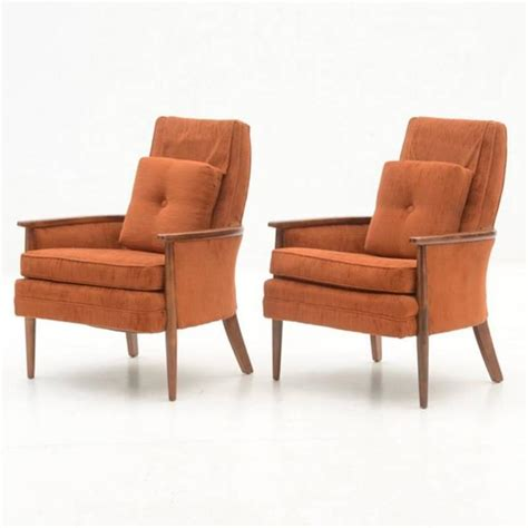 Fabric Armchairs For Sale by Pair Of Circa 1970s Vintage Armchairs Upholstered In