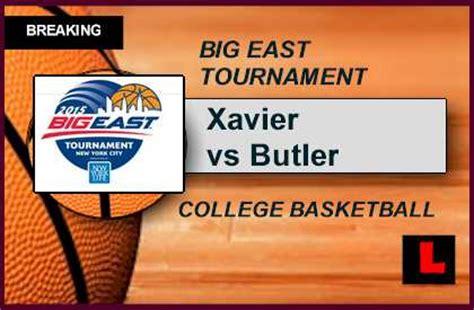 printable xavier basketball schedule big east tournament 2015 bracket schedule ignites xavier