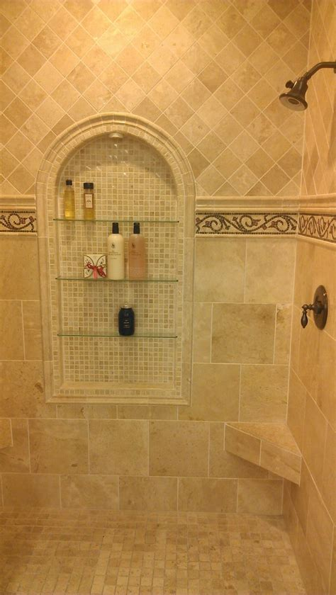 Bathroom Tile Ideas Traditional 25 Best Ideas About Travertine Shower On Travertine Bathroom Cottage Neutral