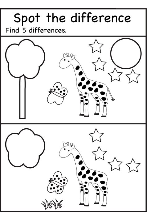free printable january activity sheets search results for spot the difference worksheets