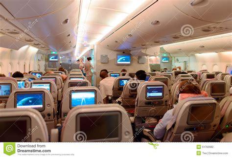 a380 interni interno di airbus a380 fotografia editoriale immagine di