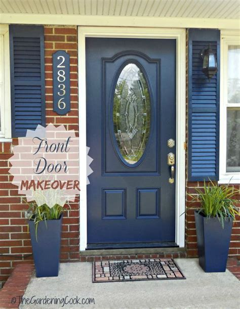 front door makeover tips for a front door makeover before and after the gardening cook