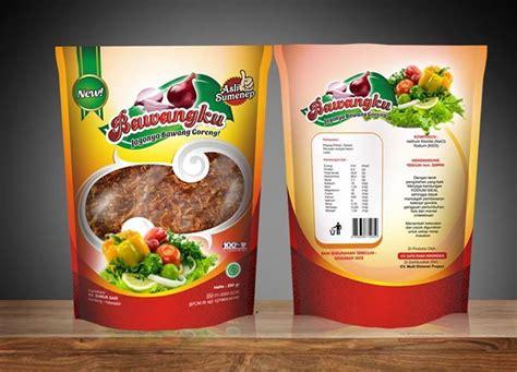 jasa desain kemasan abon food poster design food