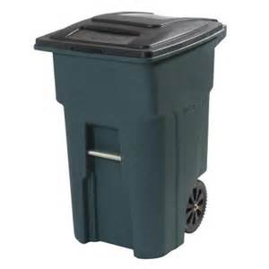 toter 32 gal green wheeled trash can 025532 01grs the