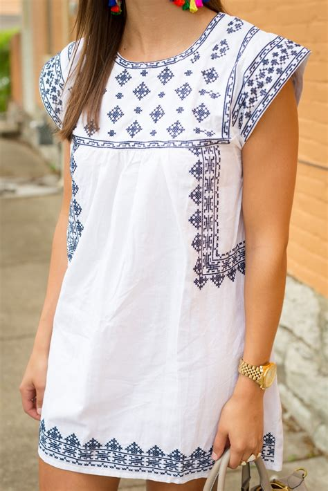 Best White Embroidered Dress Photos 2017 ? Blue Maize