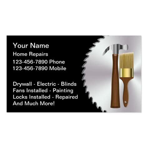 Handyman Gift Card - handyman business card
