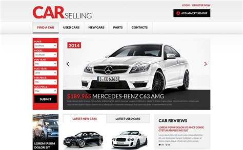 Car Dealer Website Templates To Quickly Start Your Business Automotive Website Templates